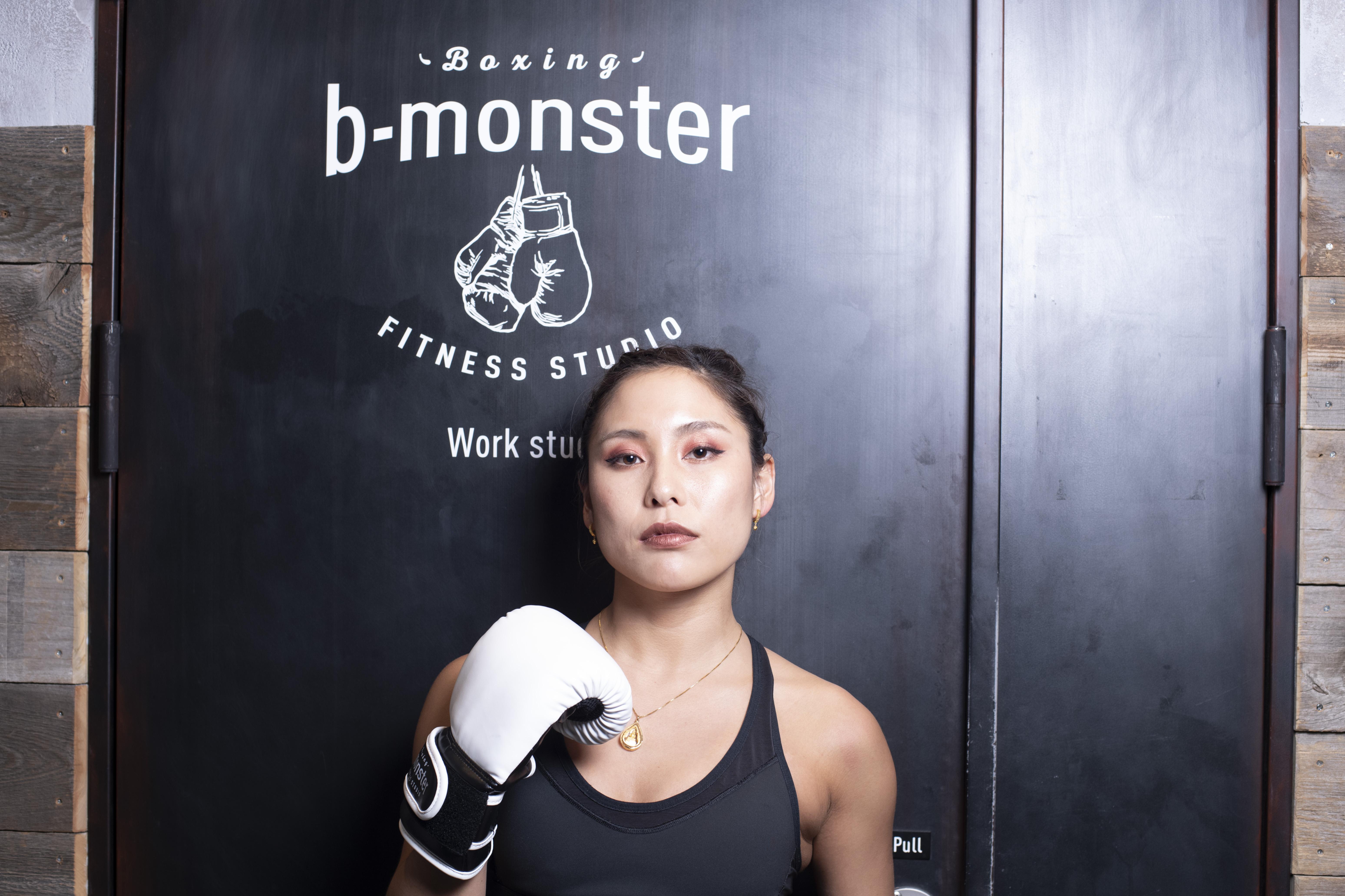 b-monsterインストラクターKIMIのインタビュー